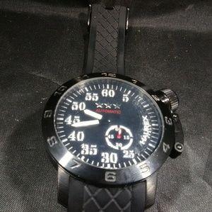 Men's watch Haurex mechanical jeweled italy